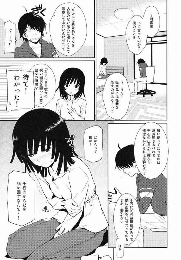 撫子ちゃんの身体を舐め回す、アララギお兄ちゃん!【化物語・初エッチえろ本】