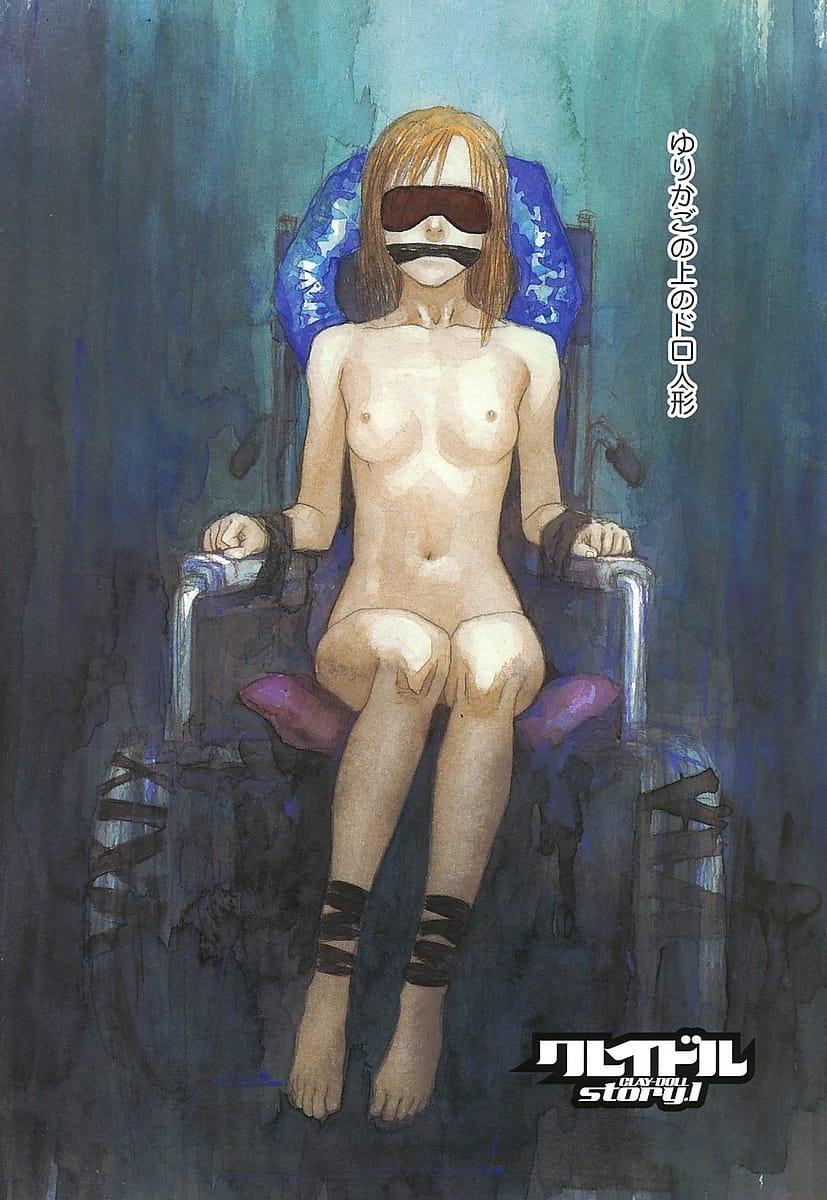 【長編エロ漫画・第1話】全裸で車椅子に拘束され目隠しに猿轡され監禁される美少女!少年たちが足早に帰ってくる!爆発しそうなチンポを順番にフェラ!そして乱交SEX!【天竺浪人】