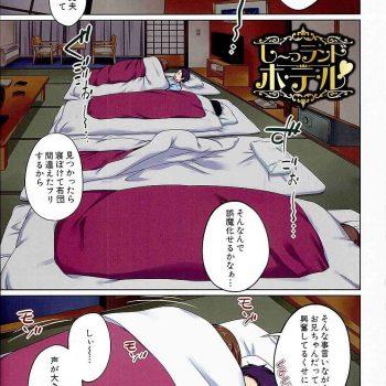 【エロ漫画】1泊で家族旅行に行くことに!隣で寝る両親を横目にSEXする兄妹!2人で留守番するとSEXする兄妹!【椿十四郎】