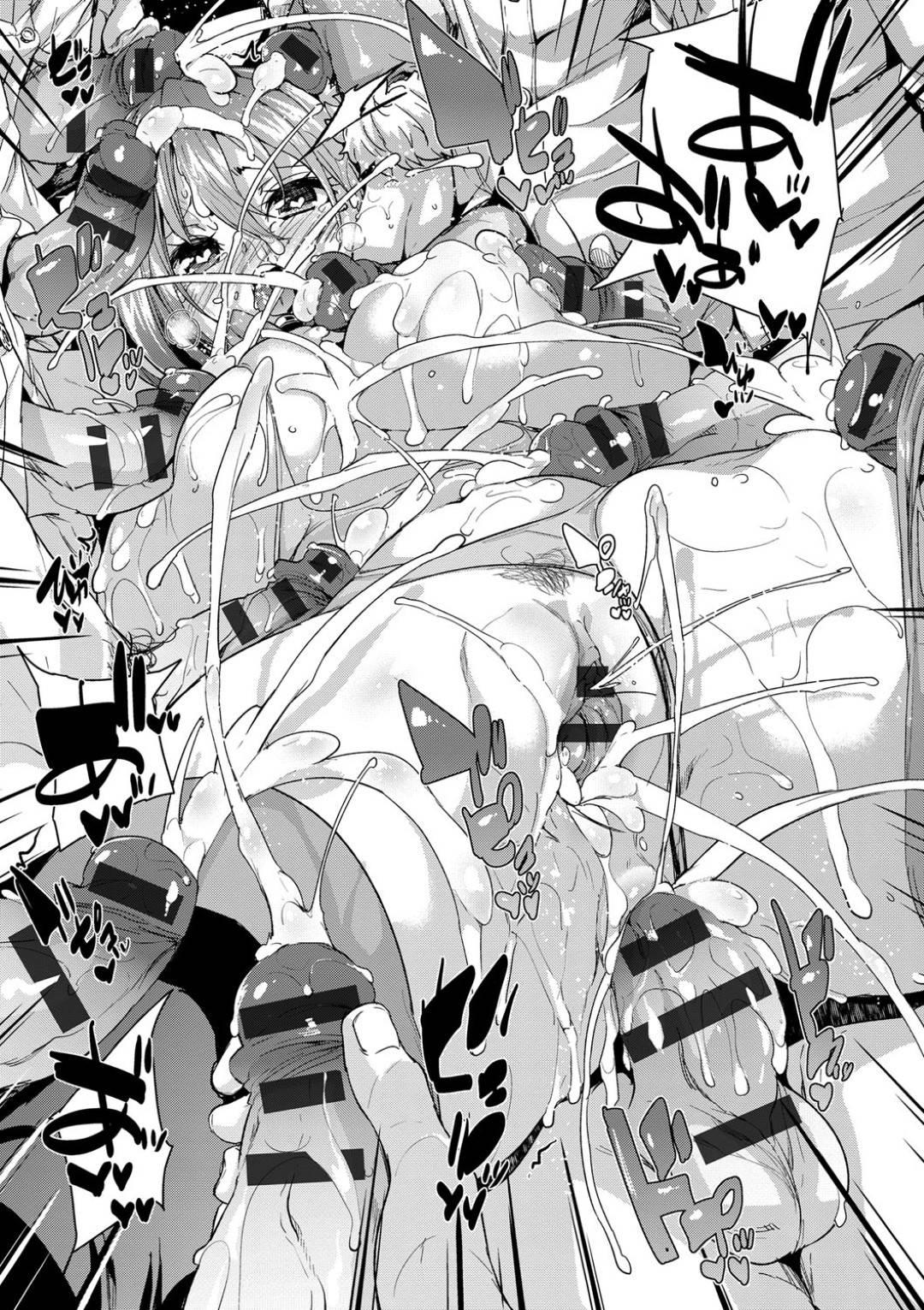 【エロ漫画】誕生日に残業して帰宅しようとする巨乳女教師…溜息をついて帰ろうとすると下駄箱に部室呼び出しの貼り紙があり男子生徒が誕生日のお祝いをしてくれることに!【丸居まる】